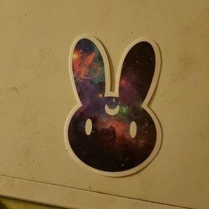 Galaxy bunny sticker